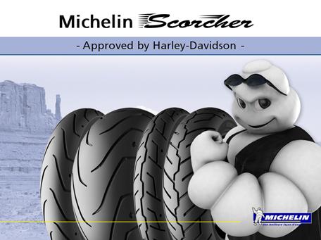 Michelin scorcher – Harley davidson riepu