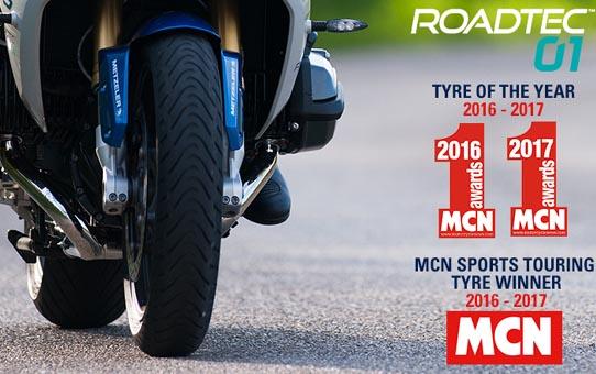 MCN: Metzeler Roadtec 01 – Labākā riepa 2017!