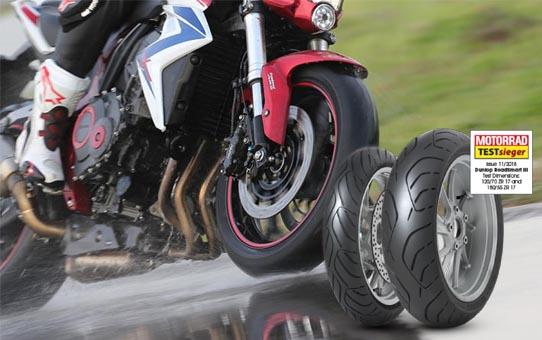 Motorrad 2018 – Touring moto riepas